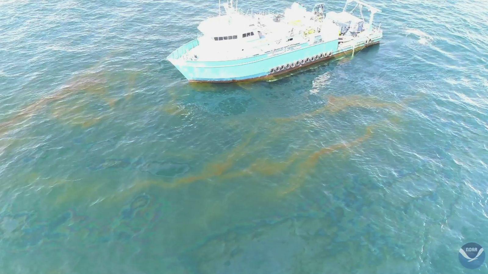 EINMALIGE VERWENDUNG Taylor oil spill