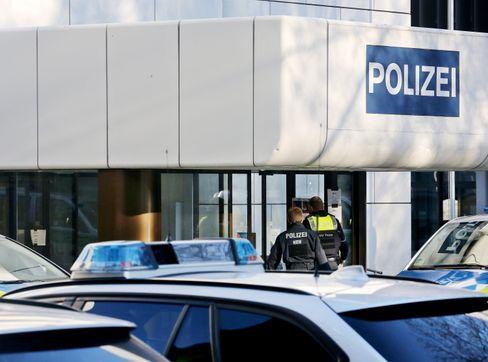 Durchsuchungen der Polizeiwache in Essen am Dienstagmorgen
