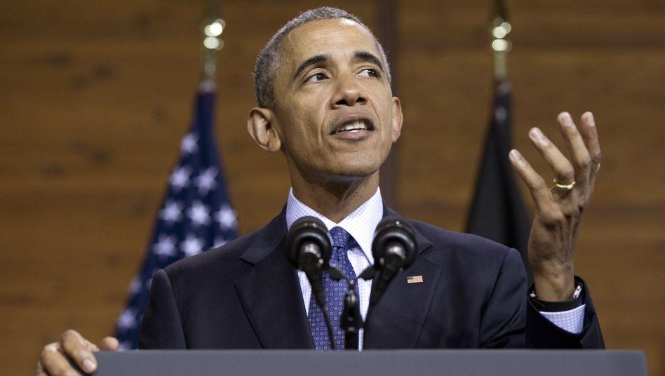 US-Präsident Obama in Hannover