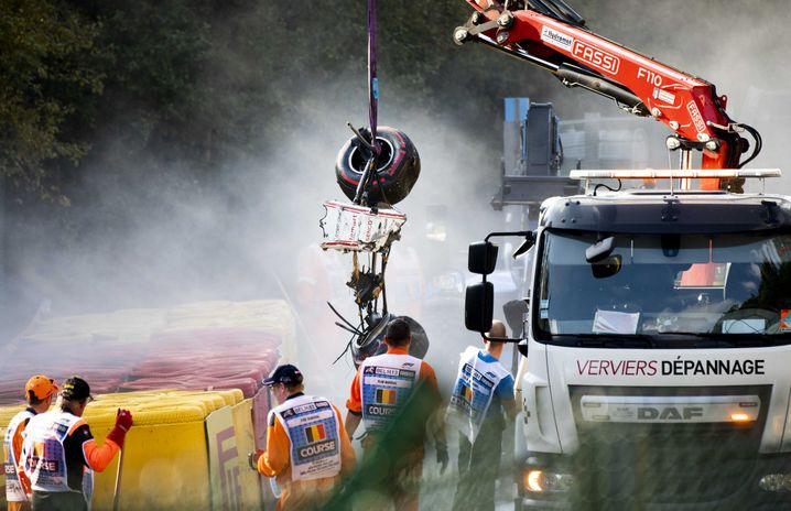 Der Unfall in Spa-Francorchamps 2019