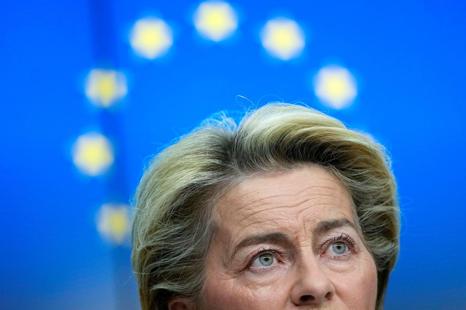 EU chiefs Michel and von der Leyen hold news conference on eve of G7