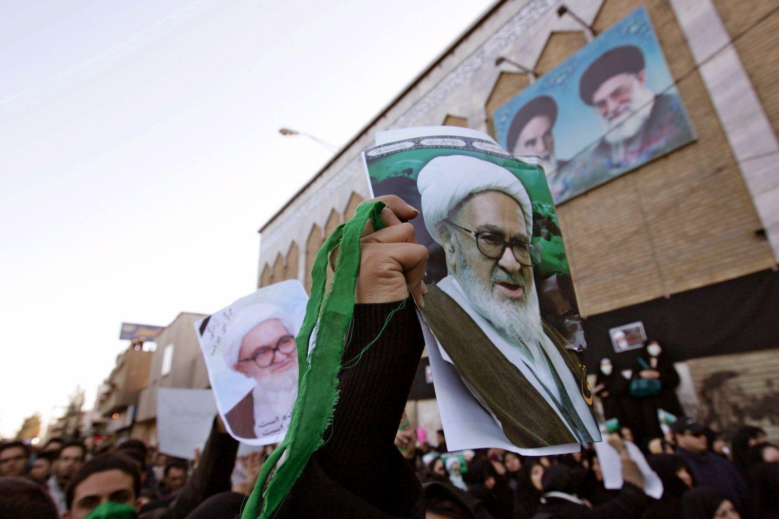 Iran / Montaseri-Beisetzung