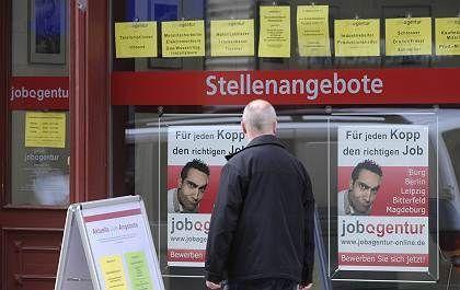 Stellenangebote der Arbeitsagentur Dresden: Statistischer Trick