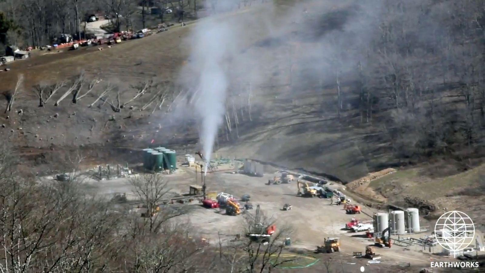 EINMALIGE VERWENDUNG Ohio/ Exxon/ Methan