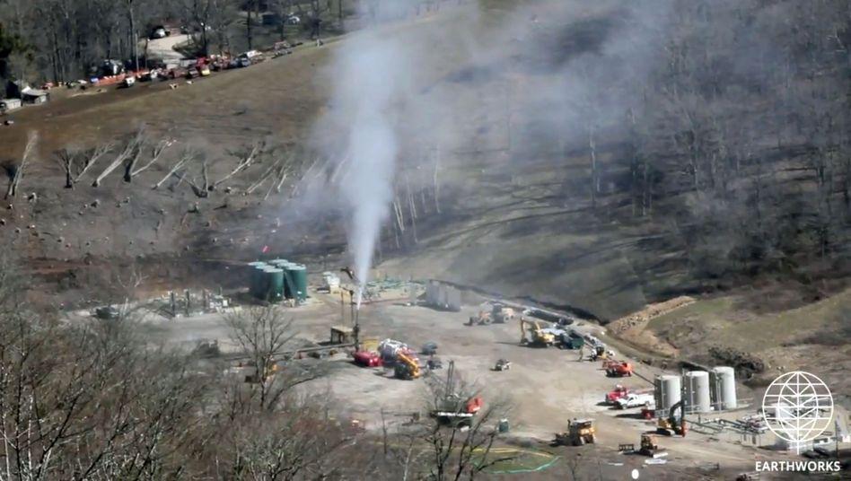 Erdgasabbau in Ohio: 120 Tonnen Methan pro Stunde