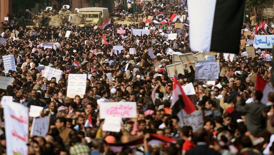 """Marsch der Millionen am Dienstag: """"Sie schreiben auf ihre Plakate, was sie wollen"""""""