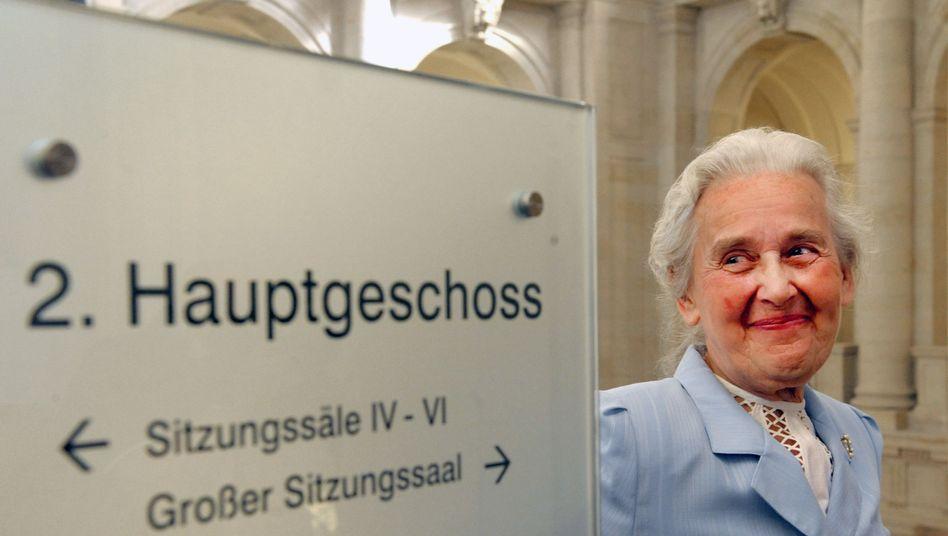 Ursula Haverbeck (Archivbild): mehrfach wegen Volksverhetzung verurteilt