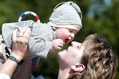 """Muttermit Kind: """"Es ist gut, dass man diesen Job anerkennt"""""""