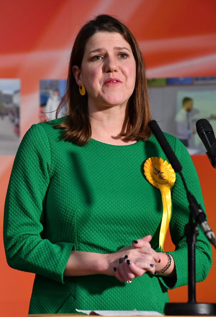Vergeblich gegen den Brexit: Liberalen-Chefin Jo Swinson, nachdem sie ihren Sitz verloren hat