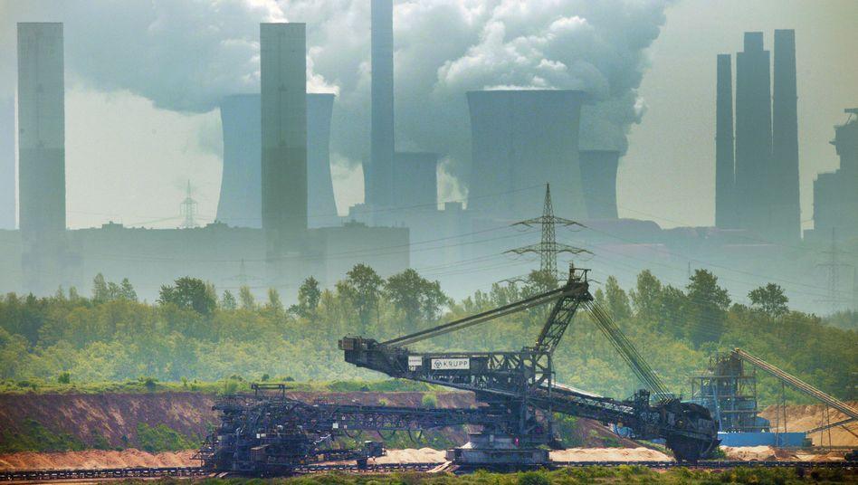 Braunkohlebagger im Tagebau Garzweiler: Rentabler Klimaschädling