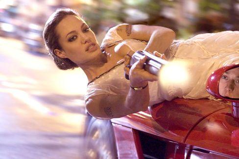 """Schauspielerin Jolie in """"Wanted"""": Kaltherzig aber erfolgreich"""