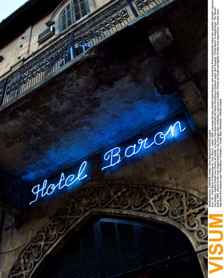 Hotel Baron in Aleppo