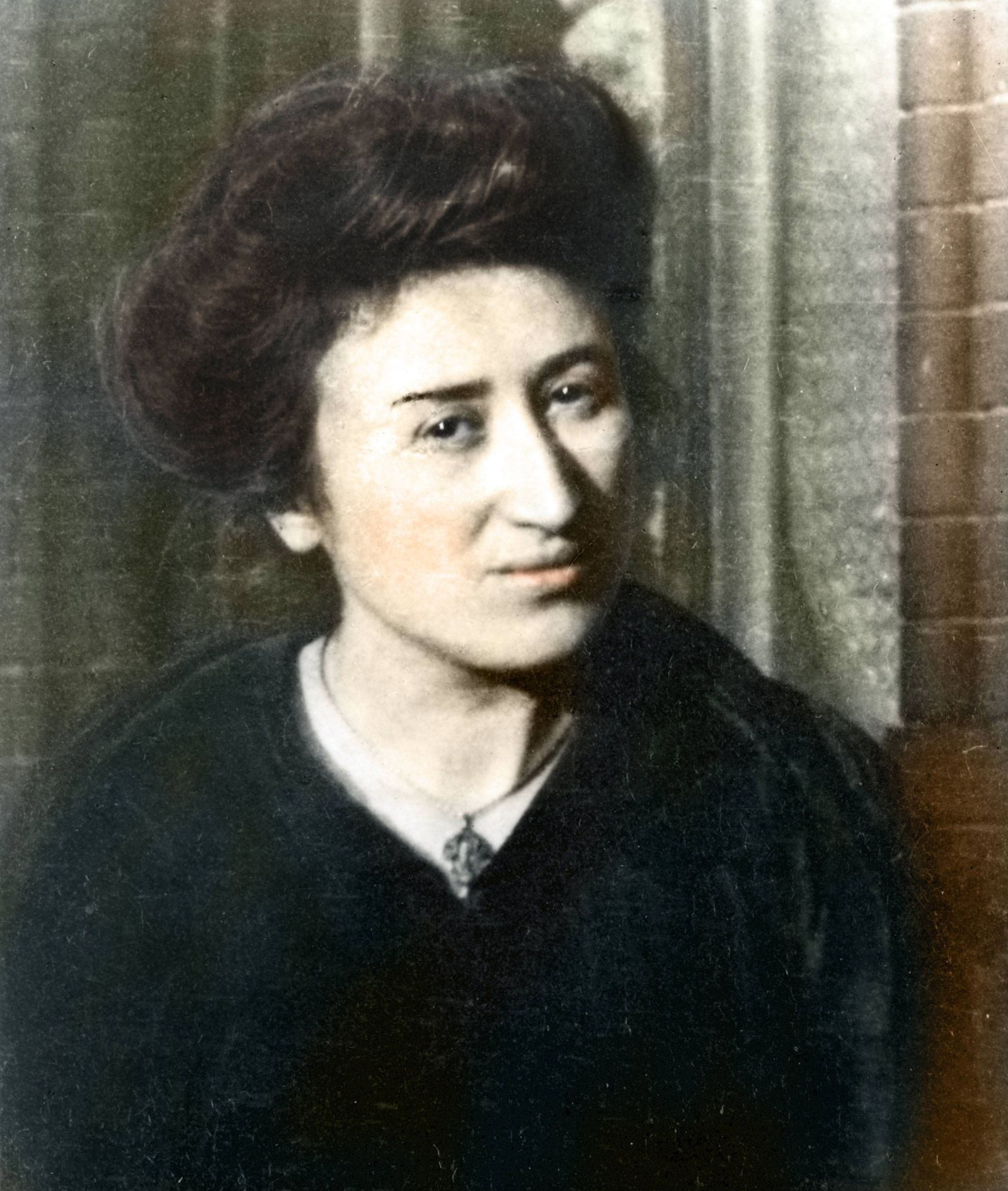 Portrait of Rosa Luxemburg (Rosa Luxembourg) (1870-1919) German Socialist and member of the German Communist Party - Ph
