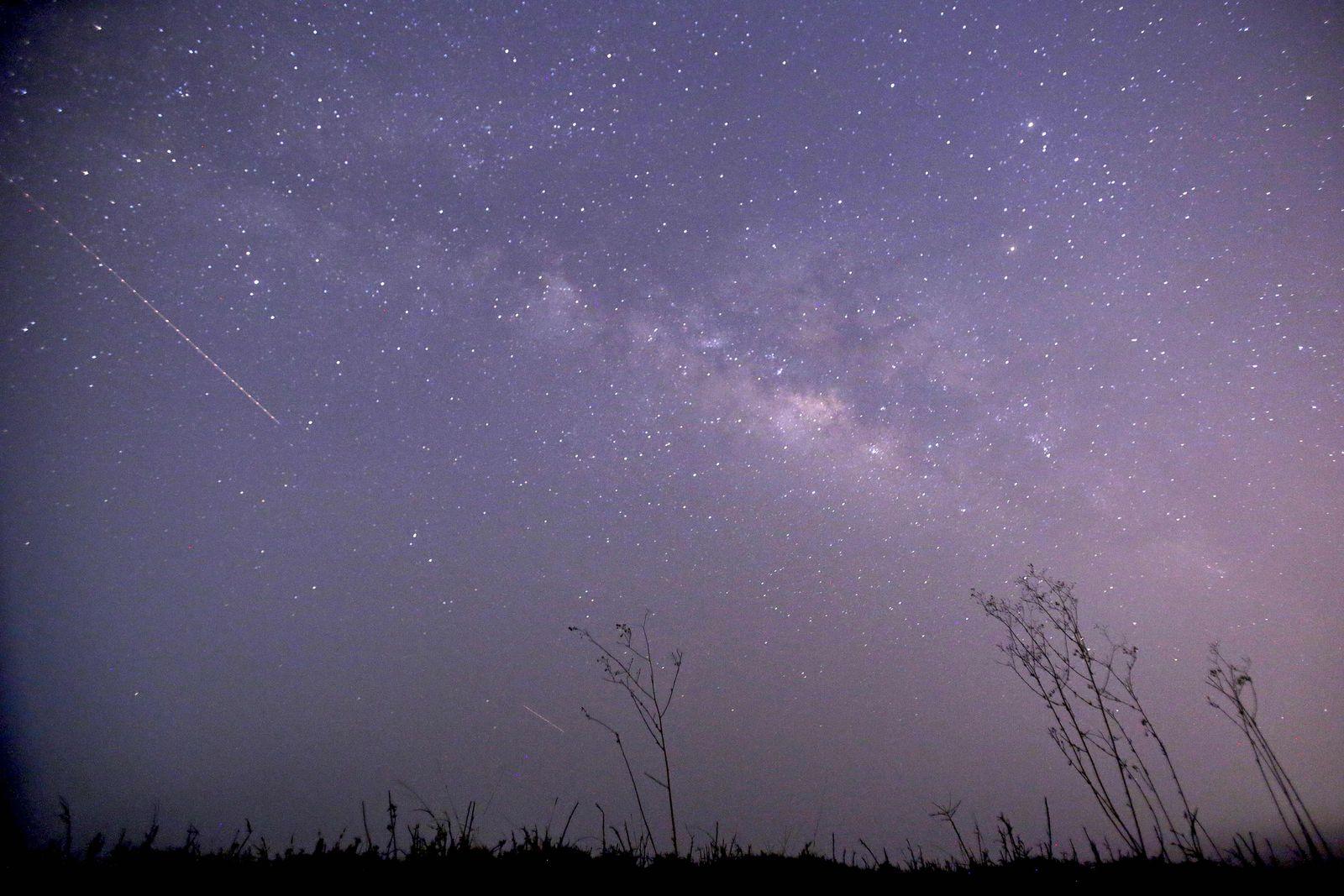 MYANMAR-ASTRONOMY-METEOR-SHOWER-LYRIDS