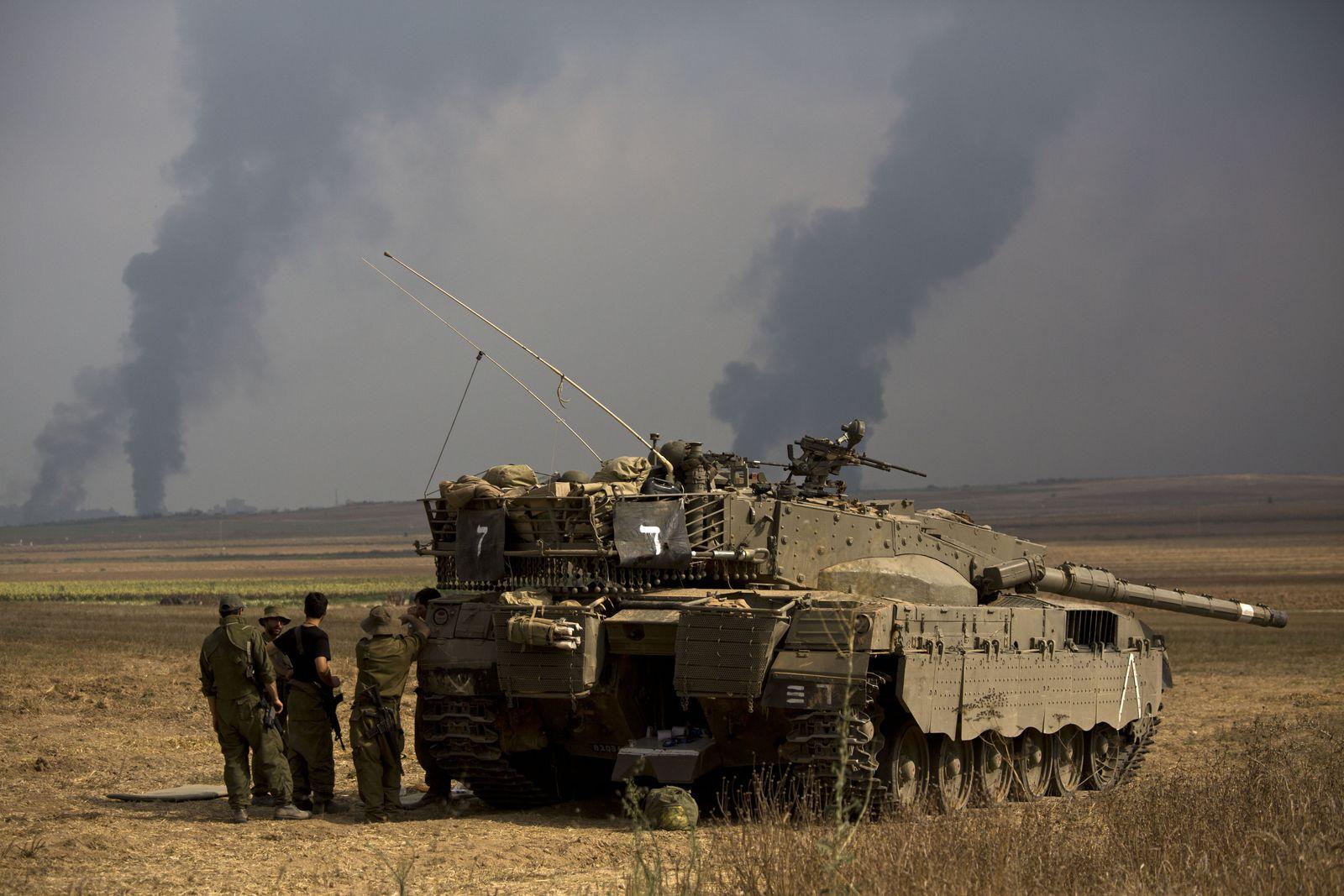 Israelische Soldaten / Gaza