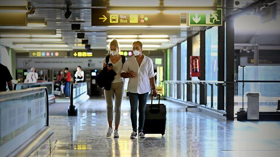Flughafen in Madrid: Hiobsbotschaften aus den Nachbarländern
