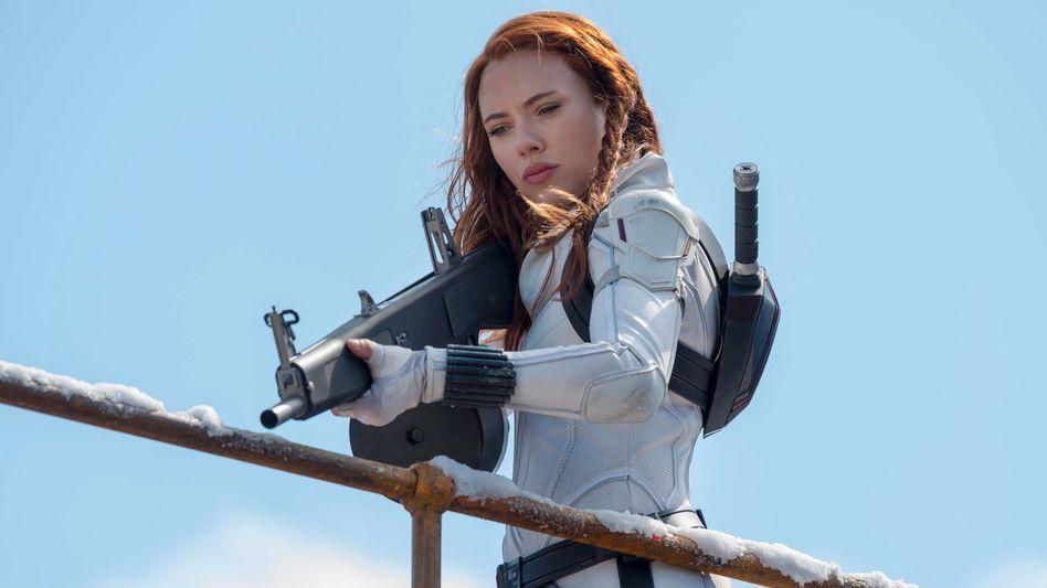 Hauptdarstellerin Johansson in »Black Widow«: Sehnlich erwarteter Blockbuster-Erfolg