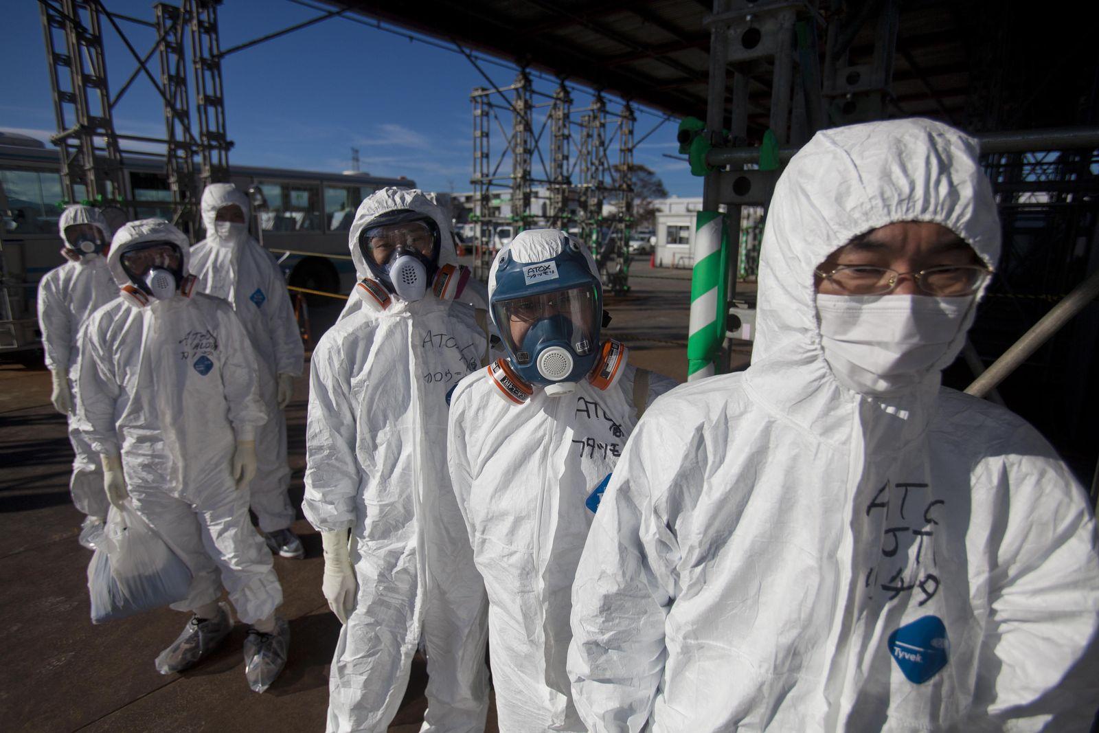 Fukushima / Tepco Arbeiter