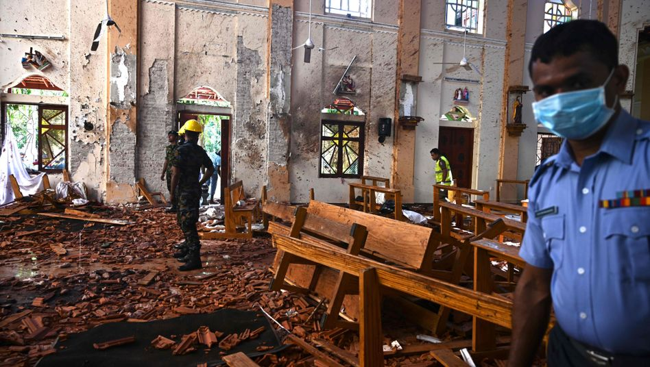 War Ziel eines Bombenanschlags: die Sankt-Sebastians-Kirche in Negombo