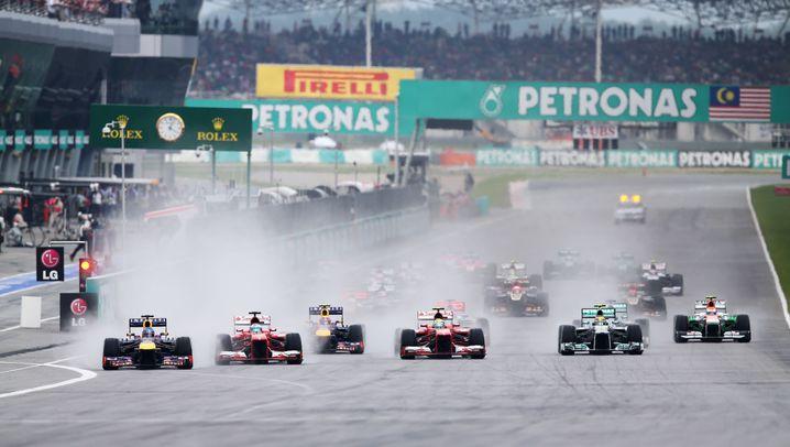 Formel 1 in Malaysia: Vettels Triumph, Alonsos Abflug