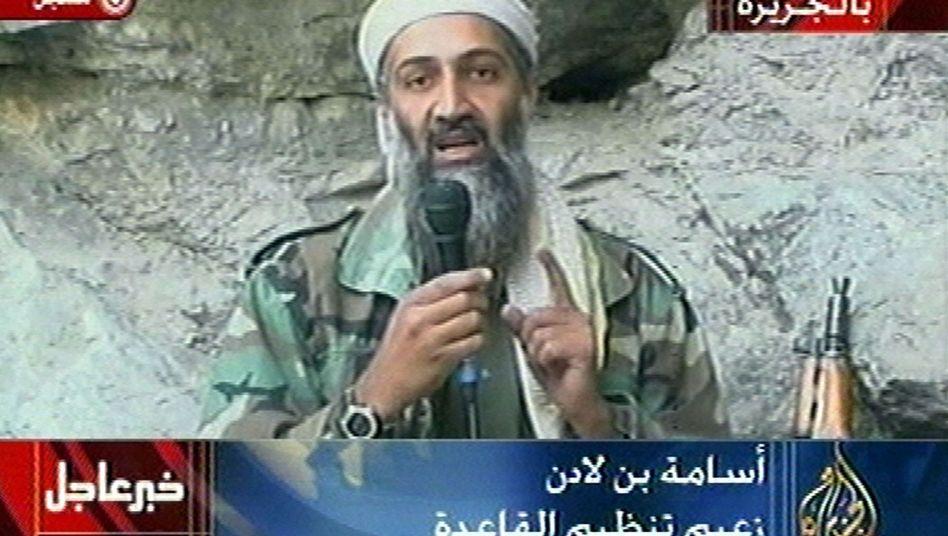 """Osama Bin Laden: """"Die Sicherheit der Franzosen hängt von einem Abzug aus Afghanistan ab"""""""