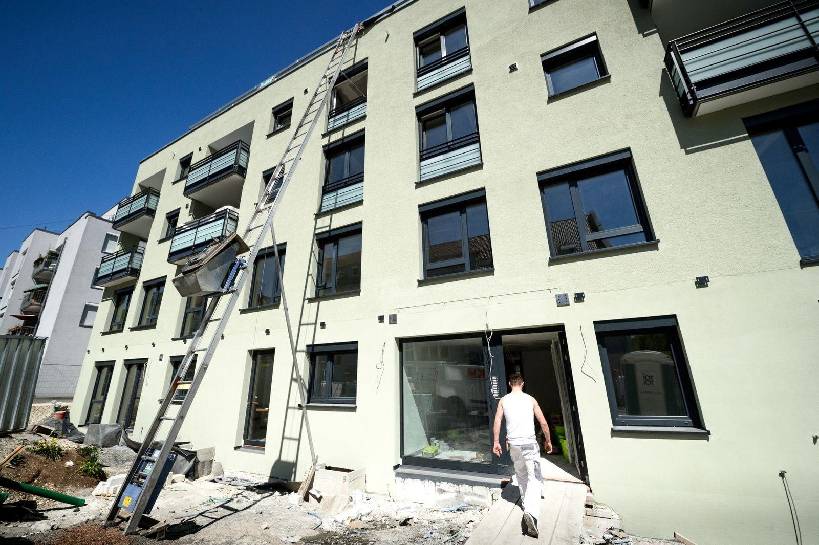 Baustelle in Stuttgart