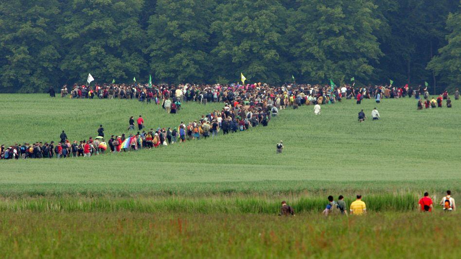 Proteste zum G8-Gipfel Heiligendamm: Vor 14 Jahren fand an der Ostseeküste unter hohen Sicherheitsvorkehrungen das Treffen statt