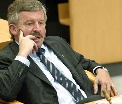 Wieder Ärger aus seiner Fraktion: Jürgen Möllemann