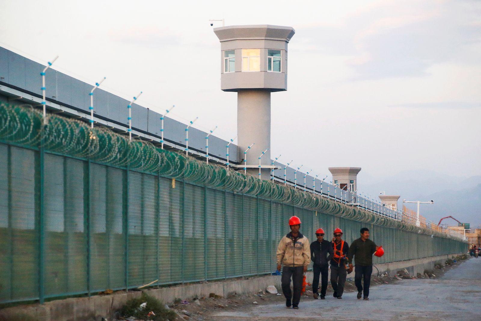 Detention Center in Xinjiang