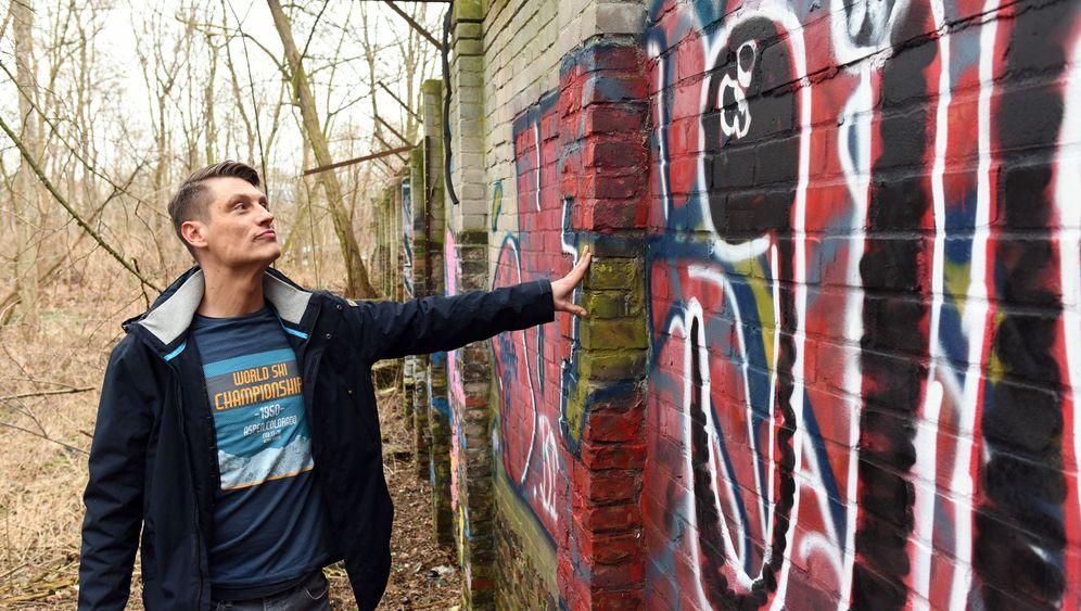 Vergessenes Berliner Mauerstück: Der Fund seines Lebens