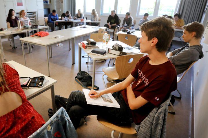 Zehntklässler in der Greifswalder Martinschule