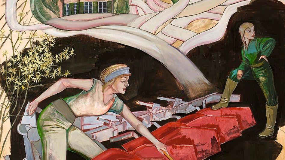 Loy-Gemälde »Pflug«, 2010