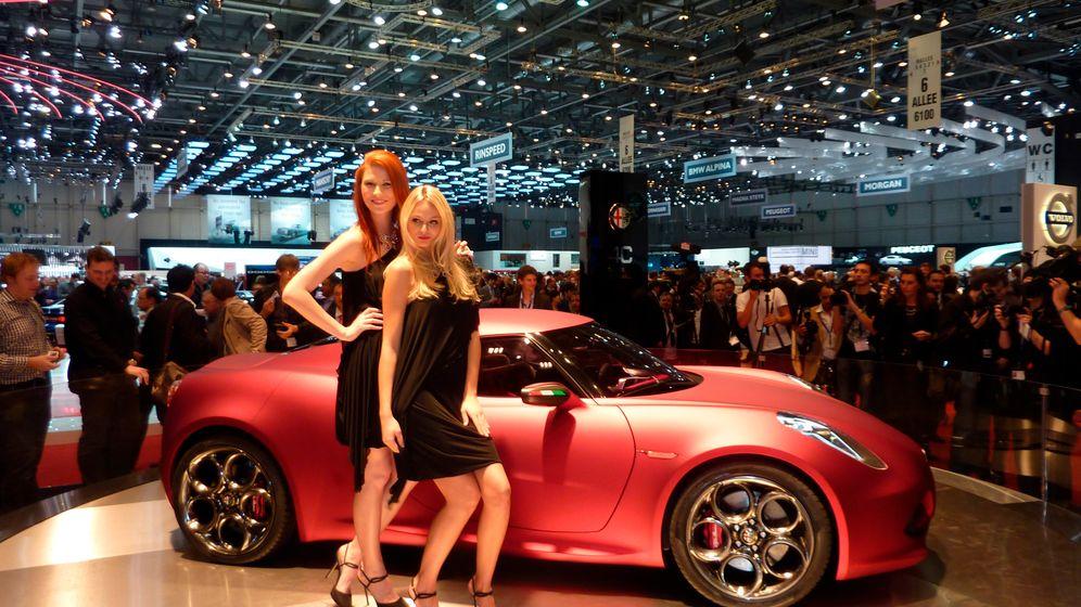 Alfa 4C Concept: Attacke aus Milano