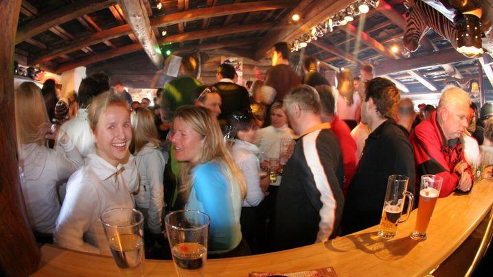 Après-Ski-Ziele: Hütten zum Schütten