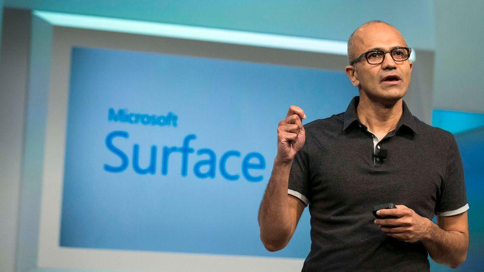 Microsoft-Chef Satya Nadella: Strategiewechsel könnte Jobs kosten
