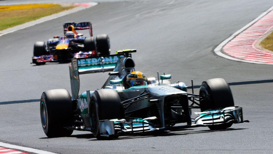 Mercedes-Pilot Hamilton: Pole auf dem Hungaroring