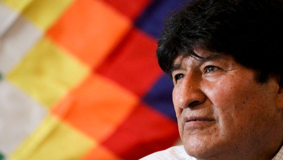 Evo Morales war 14 Jahre Präsident von Bolivien - nun wird ihm vorgeworfen, bei der Wahl im November 2019 Dokumente gefälscht und Ergebnisse zurückgehalten zu haben