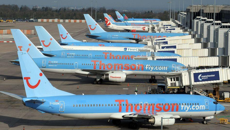 Thomson-Flugzeuge: Ausweichmanöver über Ägypten