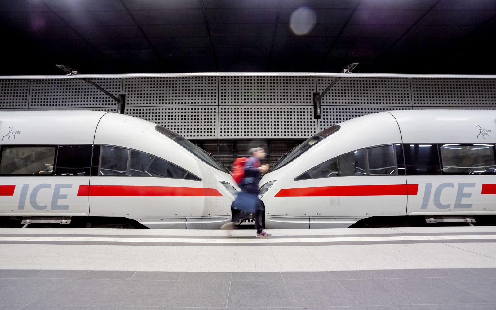 EINMALIGE VERWENDUNG ICE / Deutsche Bahn
