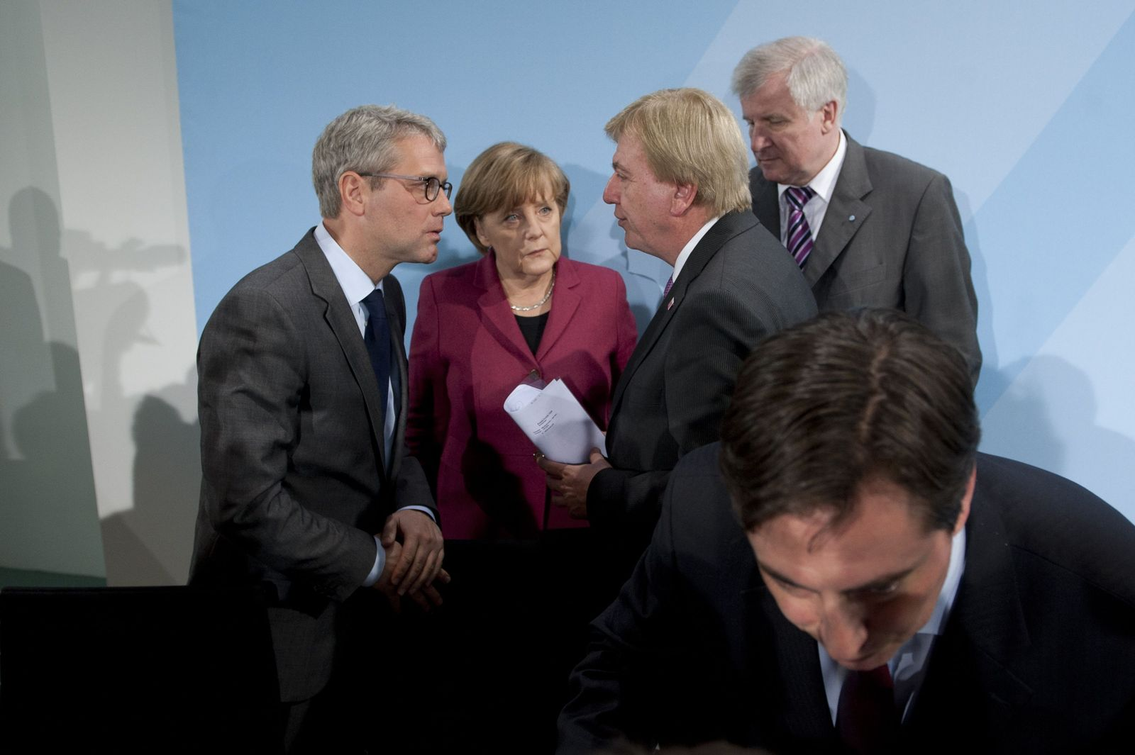 Merkel / Bouffier / Röttgen / Seehofer