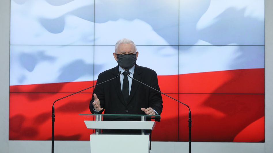 Parteiführer Jarosław Kaczyński: Polens starker Mann zeigt sich kompromissbereit