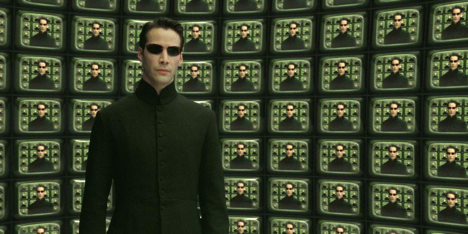 """Keanu Reeves in """"Matrix Reloaded"""": Eine Fortsetzung der Filmreihe wird es nicht geben."""