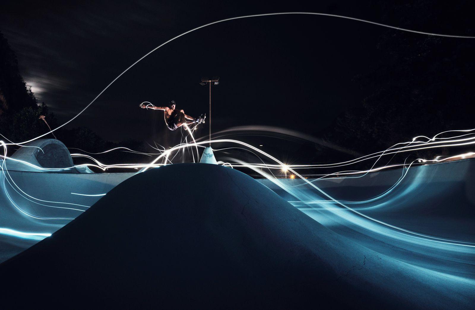 *** YEAR IN REVIEW - SPORT *** Olympic Skateboard Qualifier Tyler Edtmayer Trains In Austria