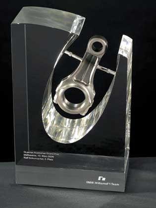 BMW-F1-Skulptur: Siegreiche Originalmotoren