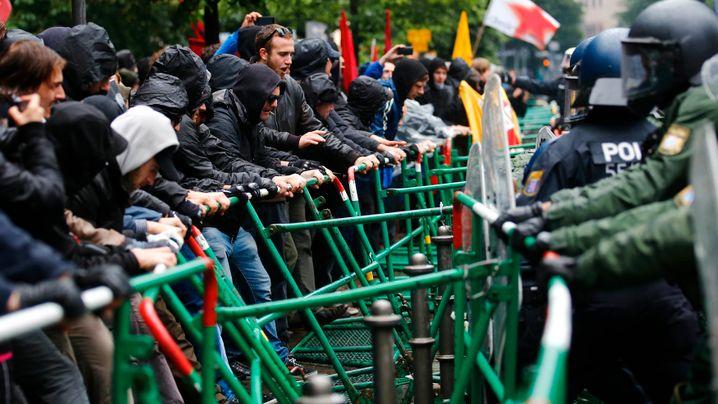 Fotostrecke: Protest gegen das globale Finanzsystem