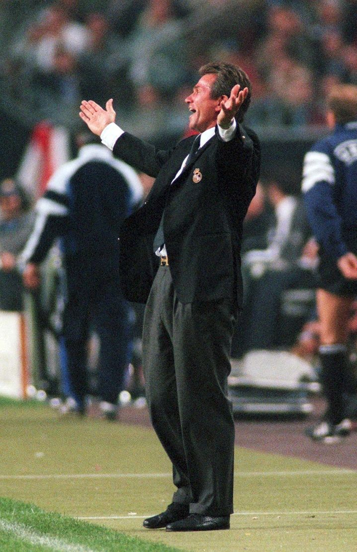 Jupp Heynckes 1998 als Trainer von Real Madrid