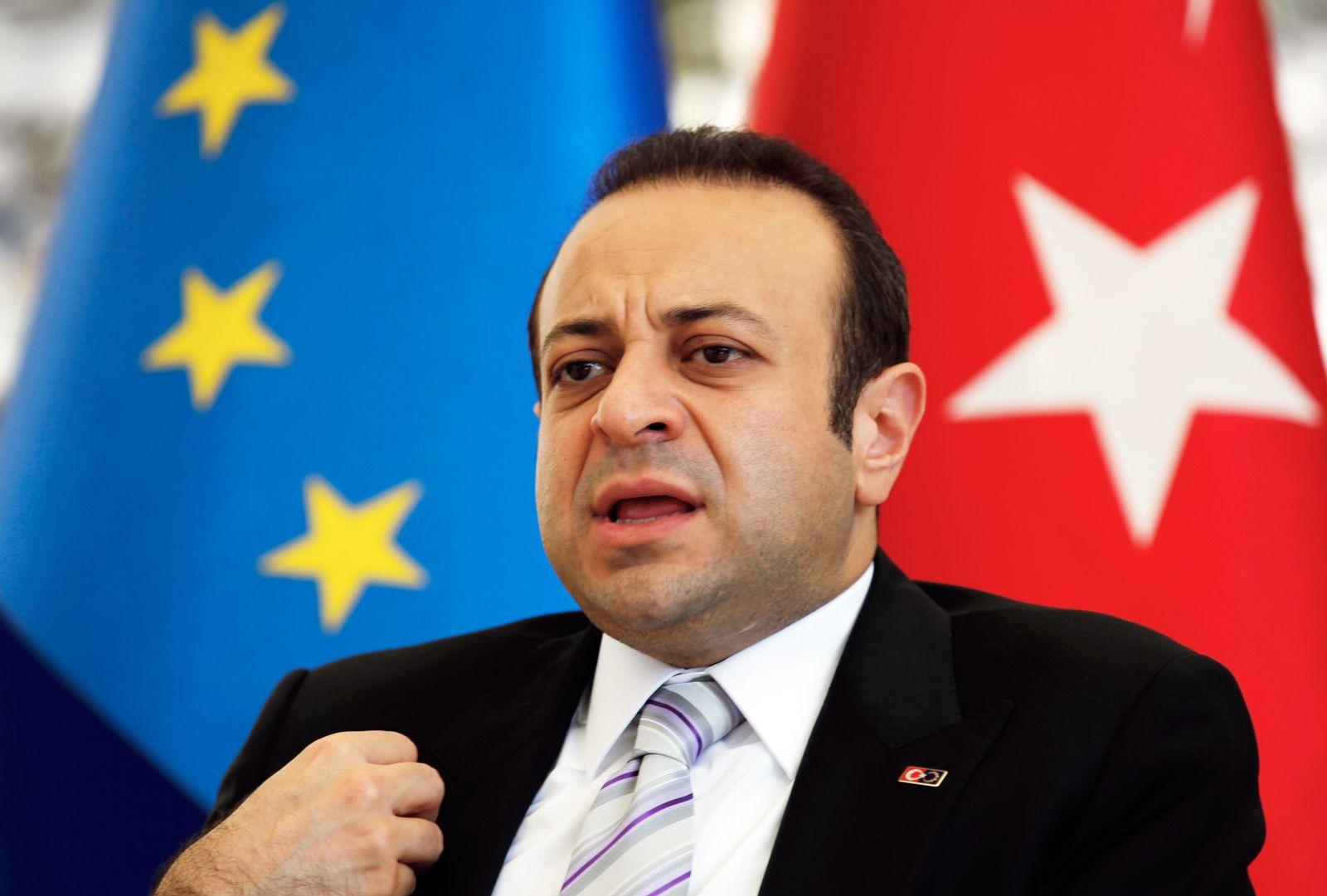 Turkeys EU Affairs Minister Egemen Bagis