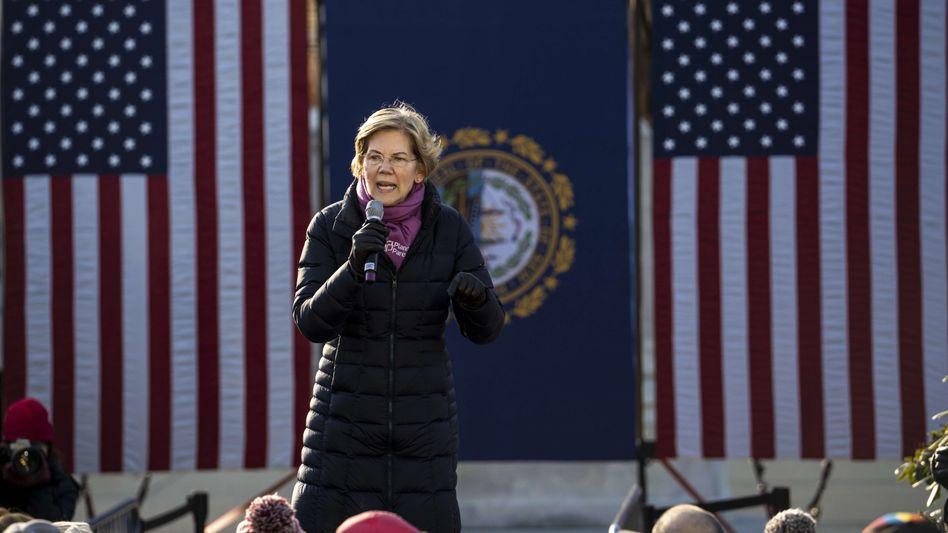 Elizabeth Warren sagt den Reichen den Kampf an