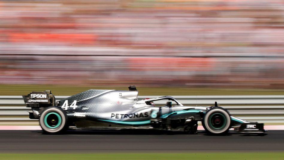 Lewis Hamilton, der König vom Hungaroring