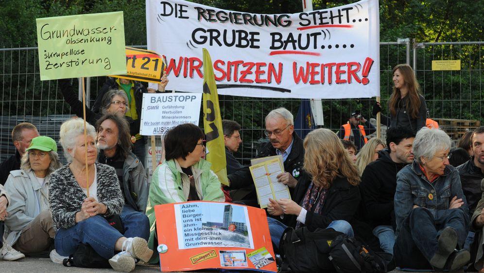Stuttgart 21: Der Chefplaner geht, die Gegner bleiben